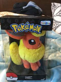 Pokémon plush toy fire type