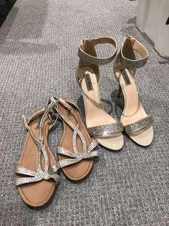 Matching Steve Madden Heels and Flats