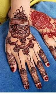 Jasa henna art wedding dll.