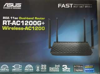 Asus Router - brand new in original packaging