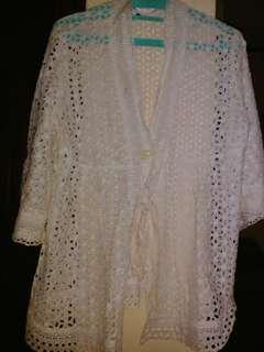 Baju putih big size