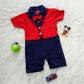 Romper Archer Red