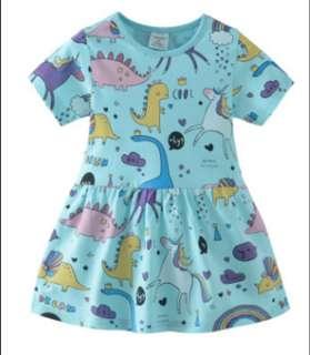 Dress size 80 90 100 110 120 130