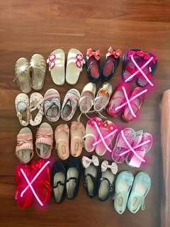 Used Baby girl shoes