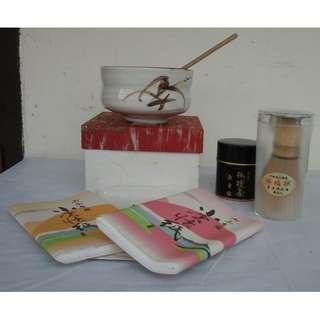 Tea Ceremony Set Original Japan