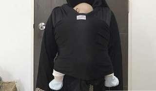 Black Instant Baby Wrap