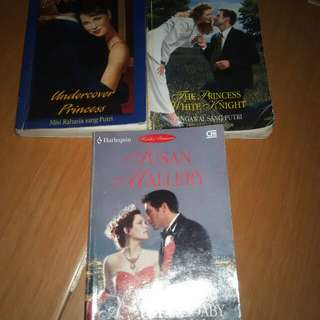 Novel Harlequin THE WHYNDHAMS series