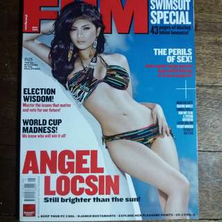 Angel Locsin - FHM Philippines May 2010