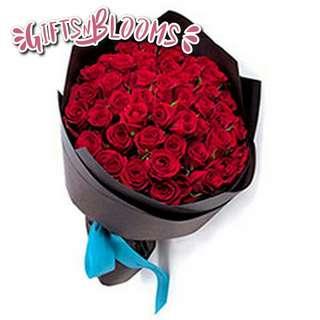 Fresh Flower Bouquet Anniversary Birthday Flower Gifts Graduation Roses Sunfowers Baby Breath -  3020     48