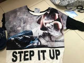 step up loose tee (osella)