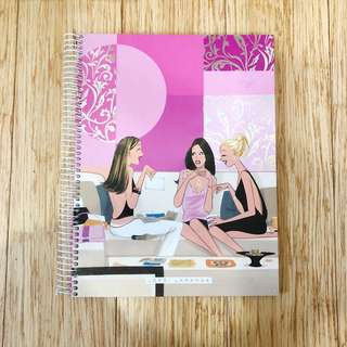 Jordi Labanda Large Pink Notebook