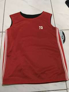 Boys reversible jersey set