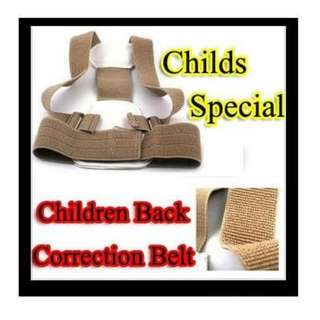 Children's Posture Corrector Back Support Belt