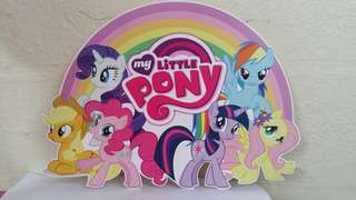 $12 My Little Pony Die Cut Table Centerpiece Birthday Party Decoration