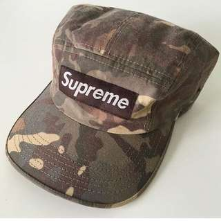 Supreme Camo Camp Cap ( buy from @brandscollect)