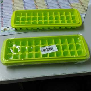 Polypropylene ice tray /mold 33 ice cubes