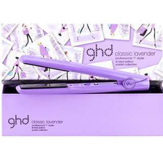 "母親節85折優惠價$1,180 ""薰衣草控""必選 💜💚ghd® classic lavender professional 1"" styler pastel collection 限量版"