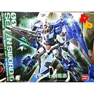 MG 1/100 GUNDAM 00 SEVEN SWORD