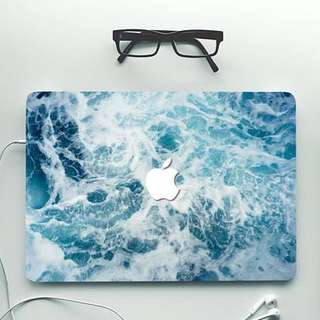 Waves Macbook Decal / Skin / Sticker