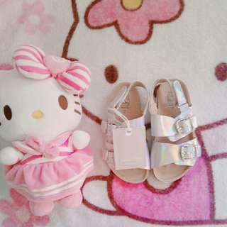 Zara baby sandals sz23