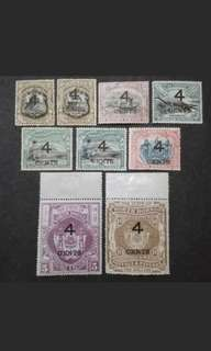 North Borneo 1899 Loose Set Up To $10 - 9v Mint Malaya Stamps