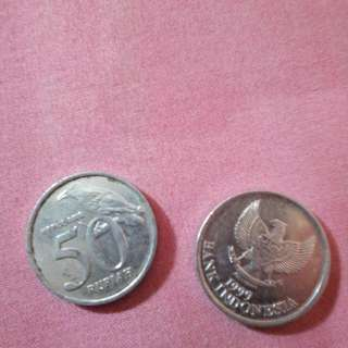 uang Rp 50 tahun 1999