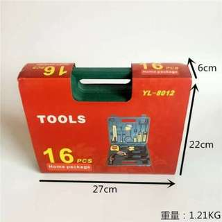HOME TOOLS 16 SET