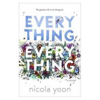 E-book English Novel - Everything, Everything - Nicola Yoon