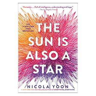 E-book English Novel - The Sun Is Also a Star by Nicola Yoon