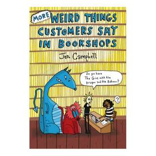 E-book English Book - More Weird Things Customers Say in Bookshops by Jen Campbell