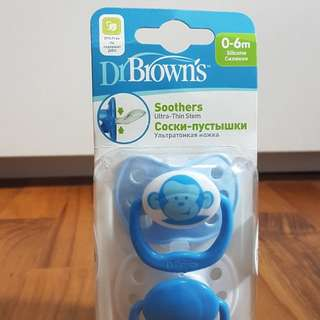 BN Dr Brown's Pacifier 0-6 MO