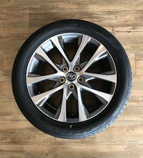 "Toyota Estima 18"" Rims with Toyo C1S Tires"