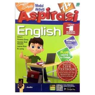 Super Skills Aspirasi KSSR English Year 1
