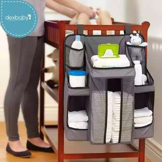 [BN] Dexbaby Nursery Organiser in Grey