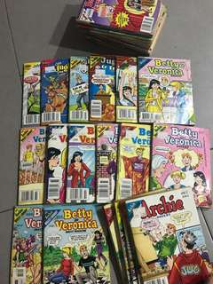 Archie Comics : Betty & Veronice, Archie & Jughead