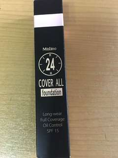 Mistine cover all foundation