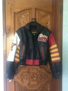 """RARE"" Boxing Betty Boop vintage ladies leather jacket 💯"