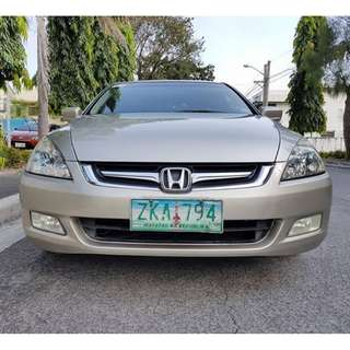 Honda Accord 2007 Acquired Limited