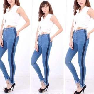 Model jeans