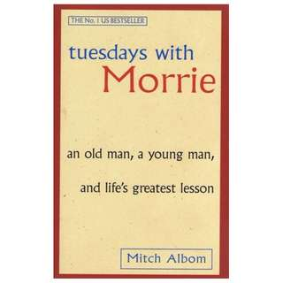 E-book English Novel - Tuesdays with Morrie: An Old Man, a Young Man, and Life's Greatest Lesson by Mitch Albom