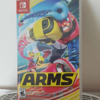 Nintendo switch ARMS game