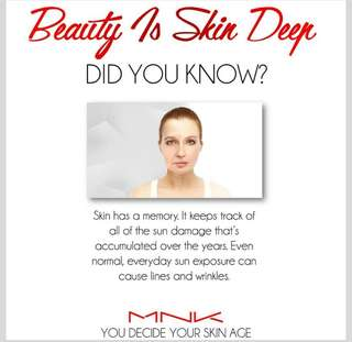 Take care of your skin now with MNK PRODUCTS: