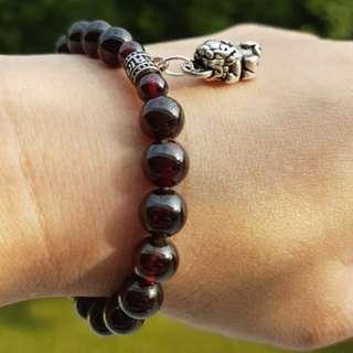Bracelet (Garnet*石榴石)