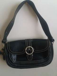 Authentic! BENETTON black bag