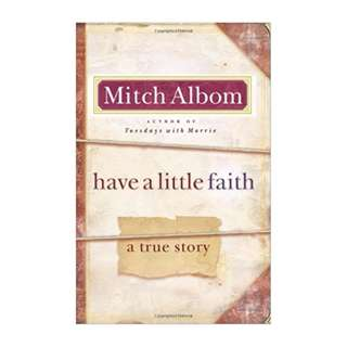 E-book English Novel - Have a Little Faith by Mitch Albom