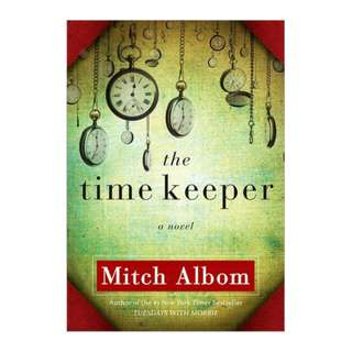 E-book English Novel - The Time Keeper by Mitch Albom