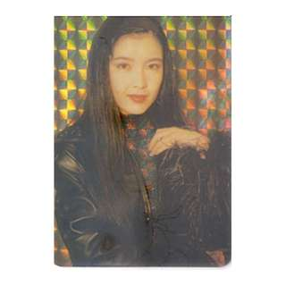 VVN-001-A-26,閃卡YES CARD,周慧敏,林隆璇合唱,背面曲詞-流言