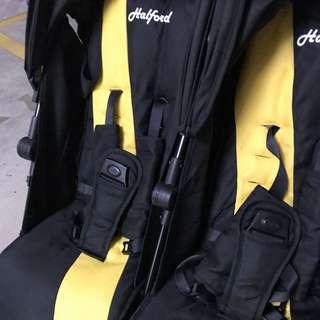 Halford twin stroller (preloved)
