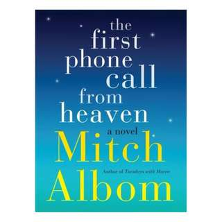 E-book English Novel - The First Phone Call From Heaven by Mitch Albom