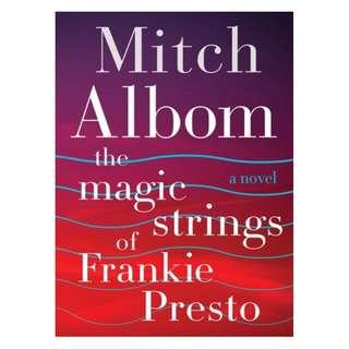 E-book English Novel - The Magic Strings of Frankie Presto - Mitch Albom